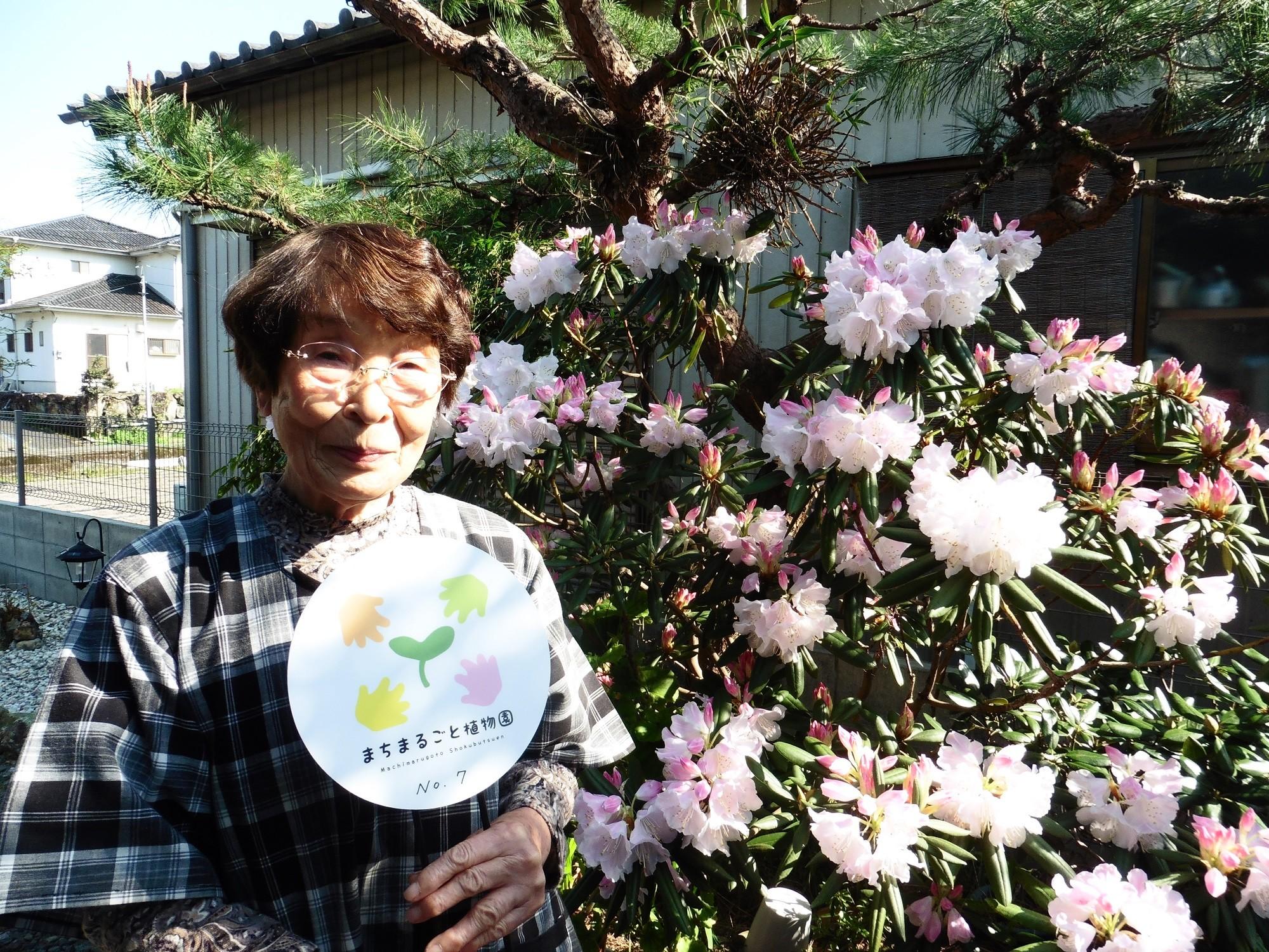 政岡幸恵さんのお庭